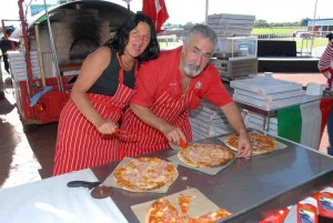 enjoy nunzio's world famous pizza